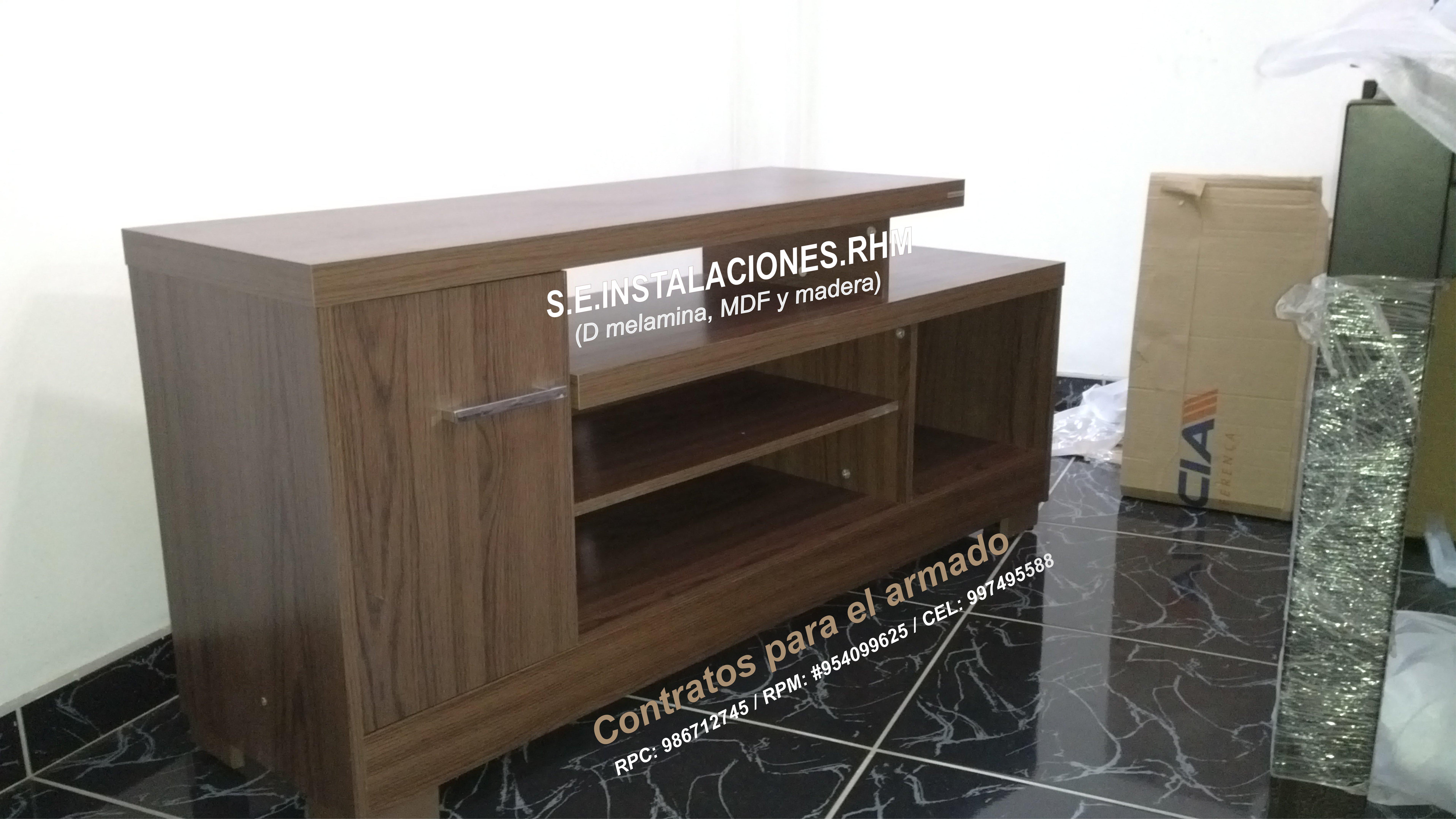 Armado de muebles de tottus for Armado de muebles en mdf
