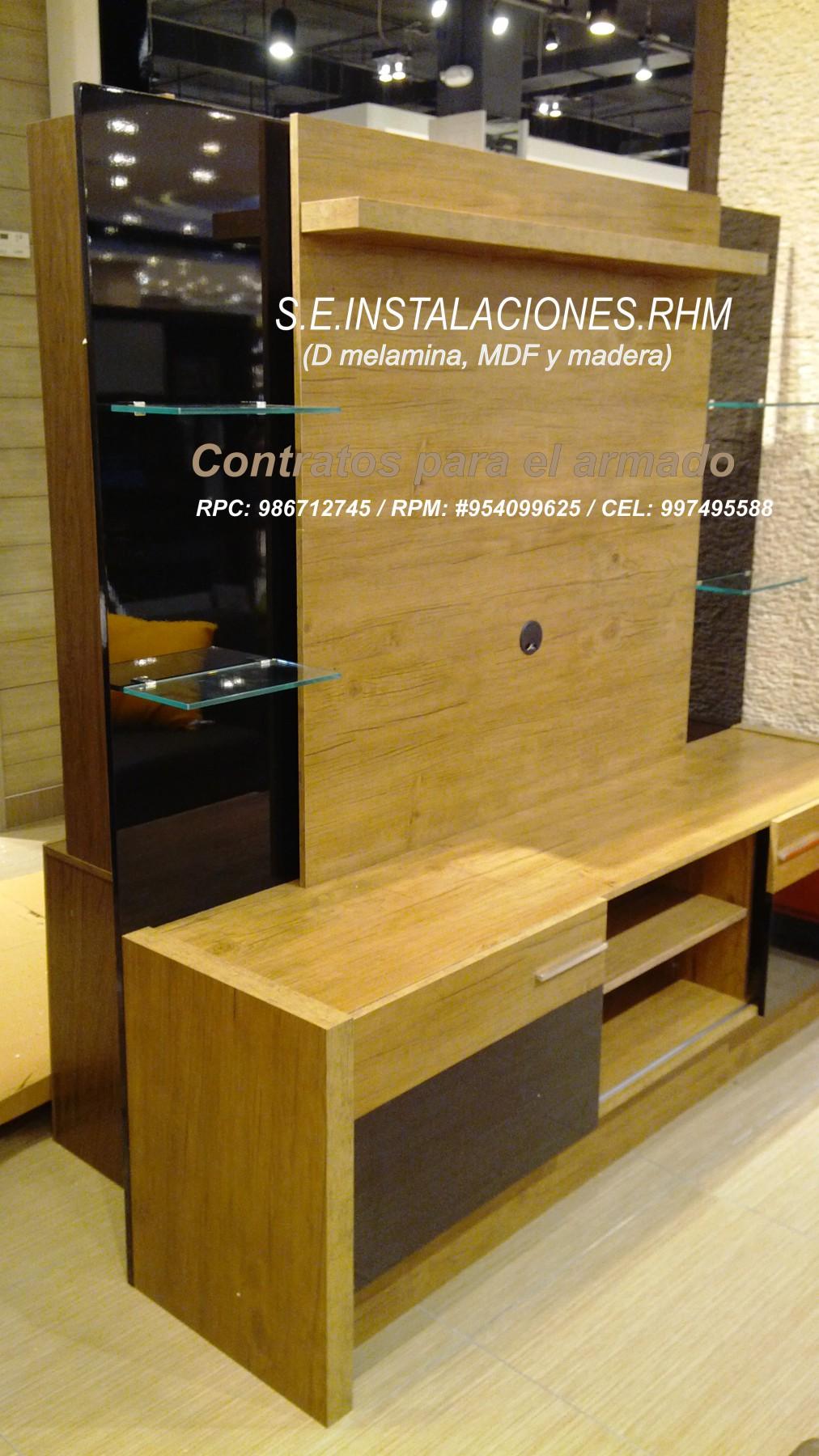 Muebles dormitorio sodimac 20170812155218 for Armado de muebles en mdf