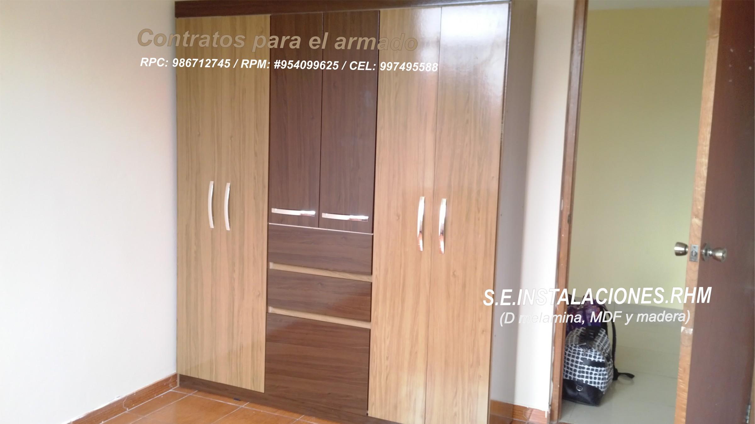 Armado de muebles de melamina de saga tottus sodimac for Todo en muebles