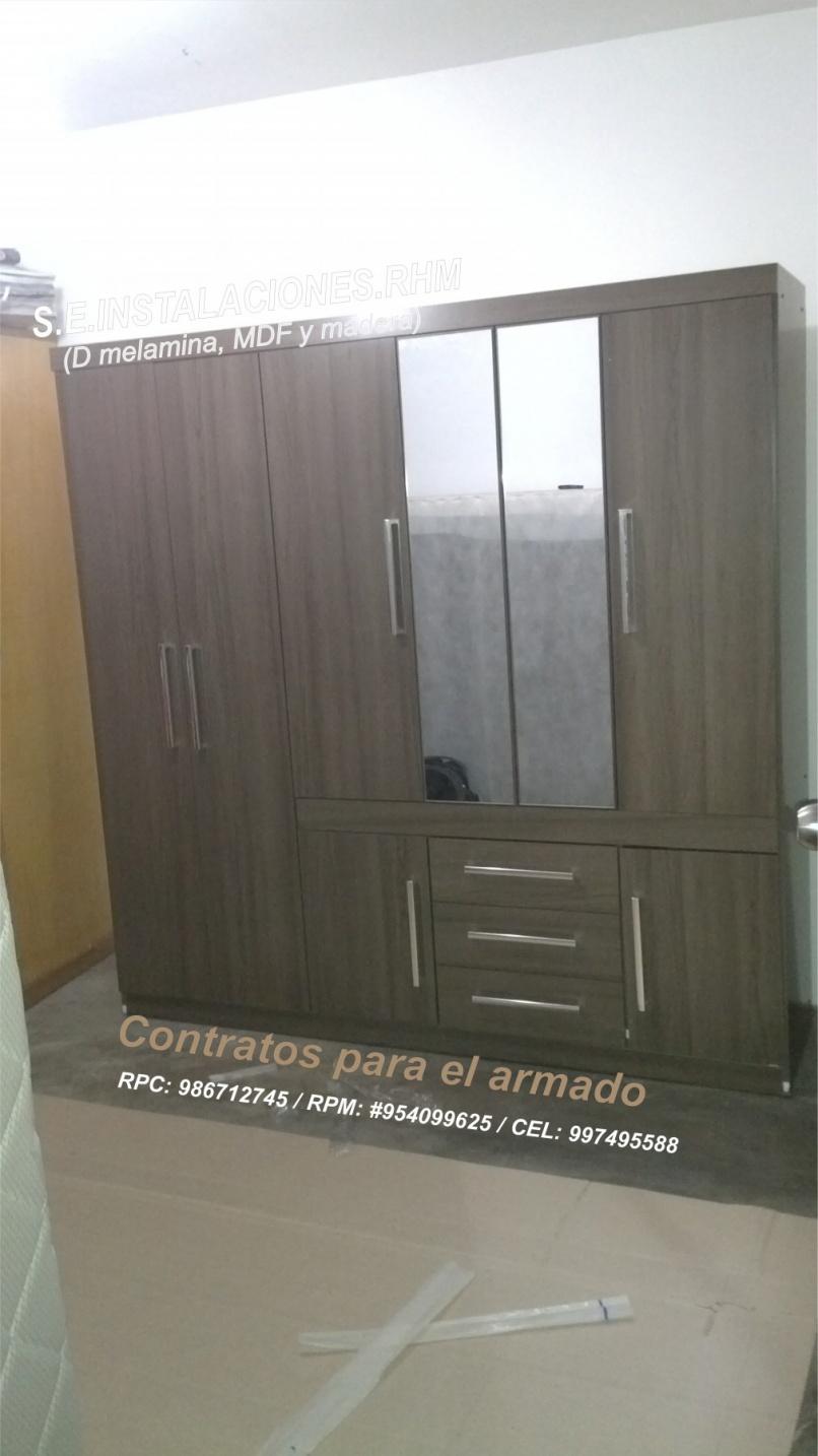 Armado de muebles de sodimac for Puertas correderas sodimac